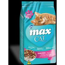 Ração Para Gatos Max Cat 6 Sabores 8kg
