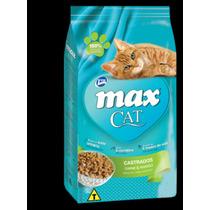 Ração Para Gatos Max Cat Castrados 8kg