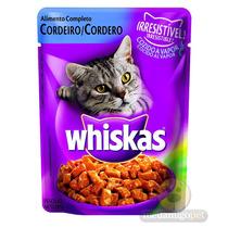 Sachê Whiskas Sabor Cordeiro 85g - Whiskas - Meu Amigo Pet