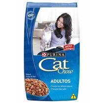 Ração Cat Chow Adultos Peixe – 10,1kg _ Purina