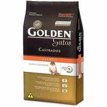 Ração Premier Golden Gatos Adultos Castrados Salmão - 3kg