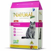 Ração Fórmula Natural S.premium Gato Castrado Adulto - 1kg