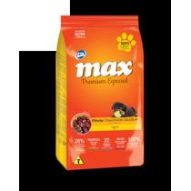 Ração Max Carne Filhote 15 Kg