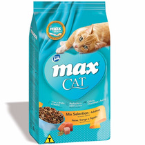 Ração Total Max Cat Mix Selection Para Gatos Adultos 20 Kg