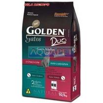 Ração Golden Gatos Adultos Duo Cordeiro&salmao 10kg Premier