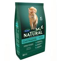 Ração Guabi Natural Para Gatos Adultos Castrados - 7,5 Kg