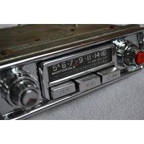 Auto Radio Motorola Original Carro Antigo Volkswagen Fusca