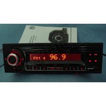 Radio Mp3 Sd Usb Bluetooth Display Vermelho Original Vw