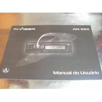 ( L - 260 / 08 ) Manual Instruções - Rádio Phaser Ar 1001