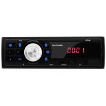 Rádio Carro Mp3 Player Multilaser One Usb Sd Fm Frete Grátis