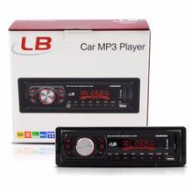 Radio Automotivo Am/fm Usb Mp3 Pendrive Cartão Sd Aux