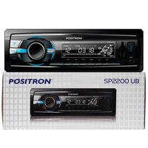 Auto Radio Positron Sp2200 Ub C/ Entradas Usb Sd Card Aux