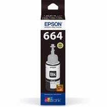 Refil Tinta Epson Ecotankt664120al Preto