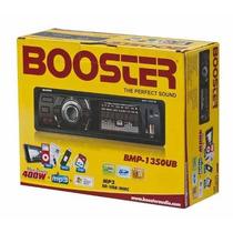 Toca Rádio Fm P/ Carro Mp3 Automotivo Usb Sd Booster 1350ub