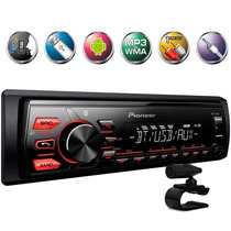 Radio Automotivo Bluetooth Pioneer Mvh-288bt Usb +frete