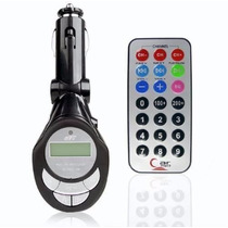Transmissor Fm Veicular Usb Cartao Wireless