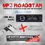 Mp3 Roadstar Sd/usb/amfm/controle Remoto Rs2704nd + Pendrive