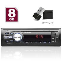 Radio Mp3 Automotivo Multilaser + Pendrive 8gb Frete Grátis