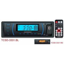 Radio Som Automotivo Powerpack 3331 Retrô Pronta Entrega