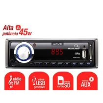 Rádio Automotivo Multilaser Wave P3108