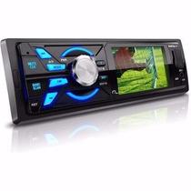 Auto Radio Mp5 Multilaser P3227 Com Tv Usb Sd Card Am/fm