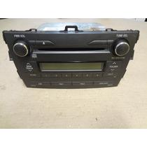 Rádio Original Do Toyota Corolla 2009 À 2013