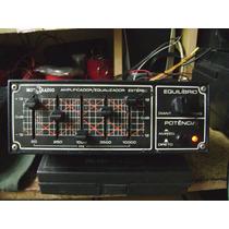Amplificador Equalizador Motoradio Original Carro Antigo