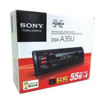 Radio Mp3 Player Automotivo Sony Xplod Dsx A35 Entrada Usb
