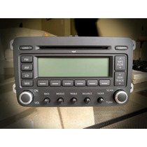 Radio Disqueteira Volkswagen Jetta Original Sem Uso