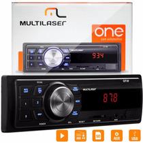 Som Automotivo Multilaser Radio Usb Sd Digital One