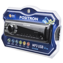Mp3 Player Positron Sp2210 Ub Usb Auxiliar Rca Auto Radio