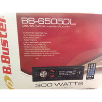 Som B-buster Mp3 Player Bb-6505dl Usb Sd Radio Fm