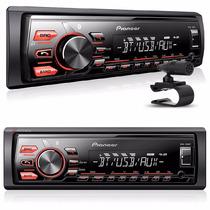 Auto Radio Mp3 Automotivo Pioneer Mvh-288bt Com Bluetooth