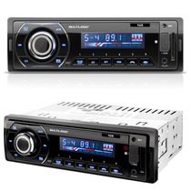 Auto Rádio Automotivo Talk Multilaser P3214 Bluetooth Mp3