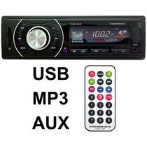 Rádio Mp3 Automotivo Tcsd-3330 Usb E Controle Remoto