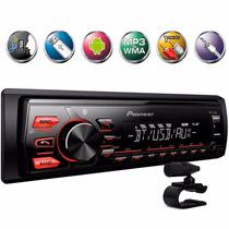 Rádio Automotivo Pioneer Bluetooth Mvh-288bt Lançamento 2016