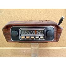 Rádio Bosch 3 Faixas Fm Om Oc Com Console Jacarandá Variant