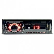 Auto Rádio Mp3 Player - Dazz - Usb 32gb Front/sdcard 32gb