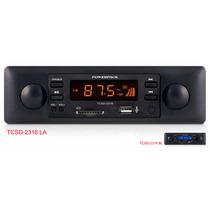 Toca Radio Automotivo Mp3 Player Powerpack 2316 Retrô