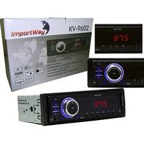 Mp3 Player Carro Kv-9602 Entrada Usb Sd Fm Aux Automotivo