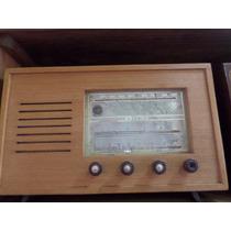 Radio Maraton Volvulado-em Madeira-decada 50-original