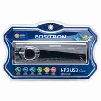 Radio Positron Usb Sd Mp3 Fm Slim Sp2210ub C/ Nfe Ñ Pioneer