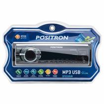 Radio Positron Usb Sd Mp3 Fm Slim Sp2210ub C/ Nfe