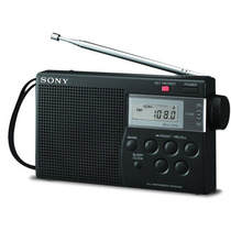 Radio Portátil Digital Sony Am/fm Icf-m260 Memória E Sleep.