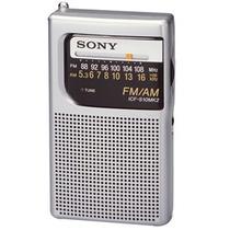 Rádio Portátil Original Sony Icf-s10mk2 Pocket Am/fm Am Fm