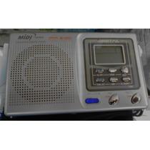 Rádio Am/fm/sw/tv Midi Japan Md-9900d