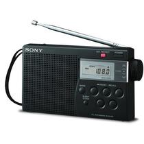 Radio Portátil Digital Sony Am/fm Icf-m260 Memória E Sleep.