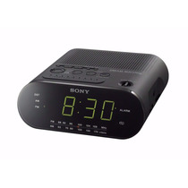 Rádio Relógio Sony Icf-c218 Display Grande Rádio Am/fm