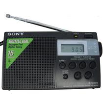 Rádio Sony Icf-m260 Digital Am Fm Memória + Frete Grátis