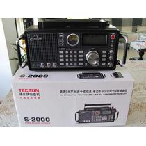 Radio Tecsun S2000 Vhf Aviação Am Fm Ssb Oc P Entrega